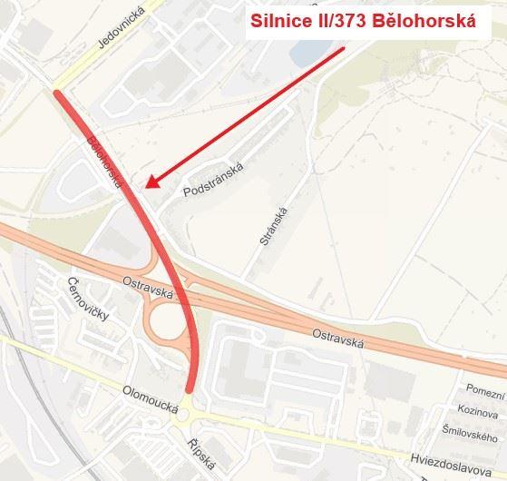 Silnice II/383 Bělohorská