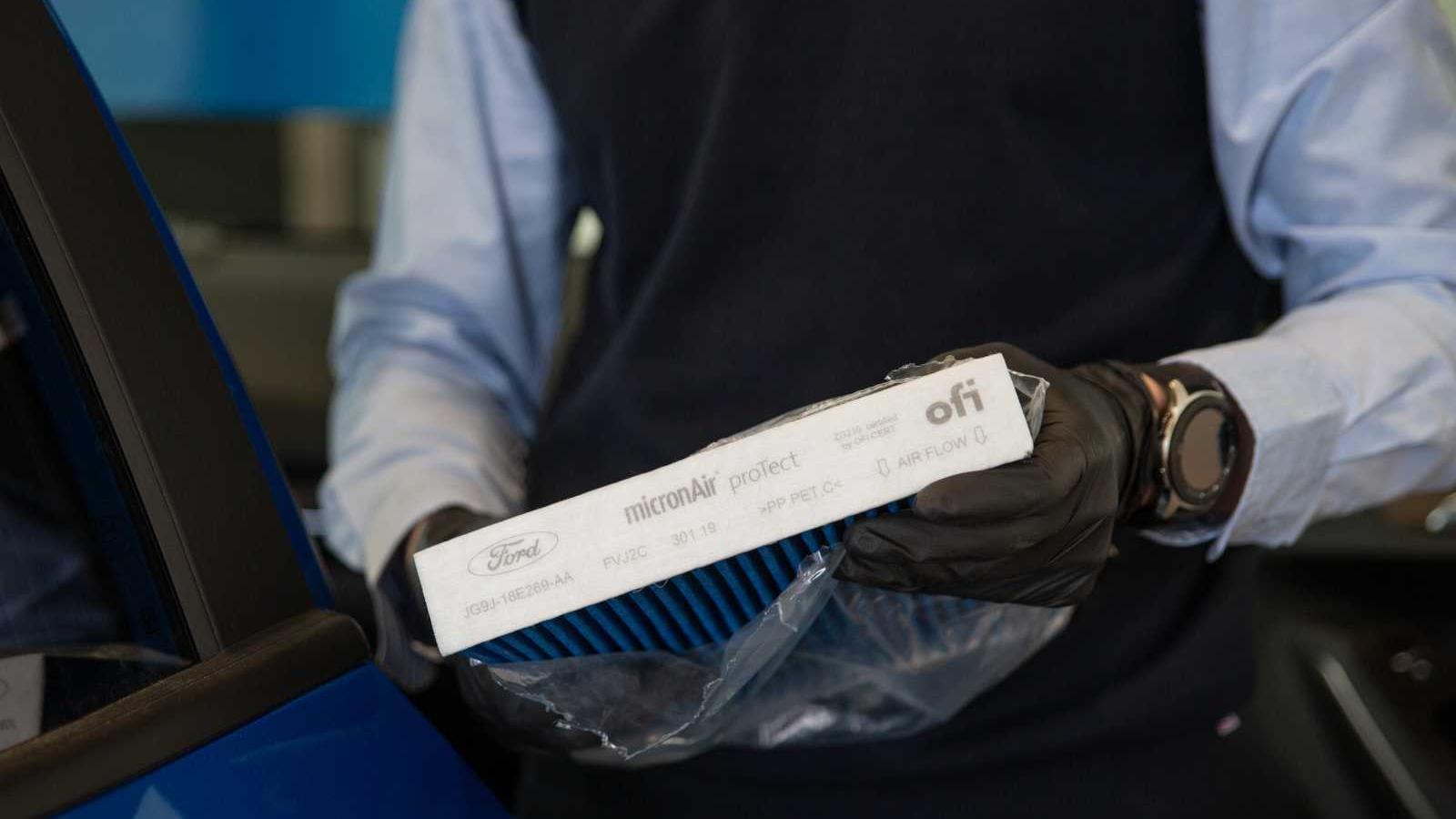 Nový Ford micronAir proTect filtr chrání před viry