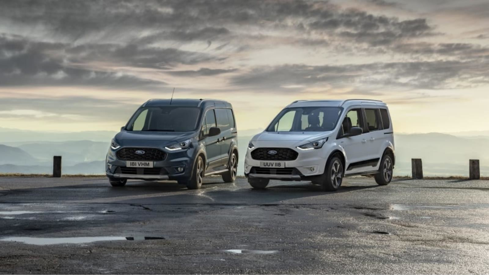 | Nové modely Ford Tourneo a Transit Connect Active