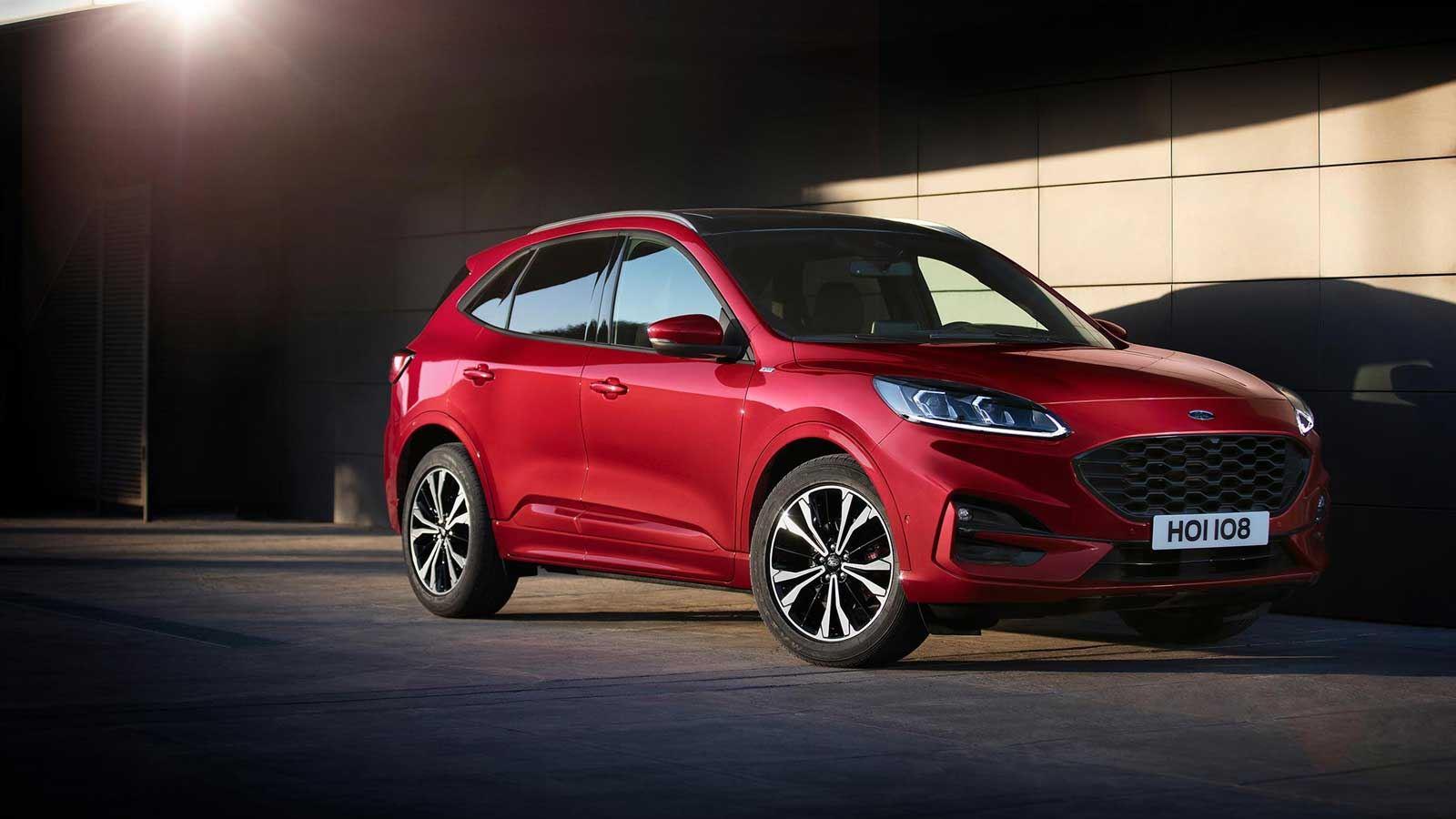 Nový Ford Kuga získal pět hvězdiček Euro NCAP