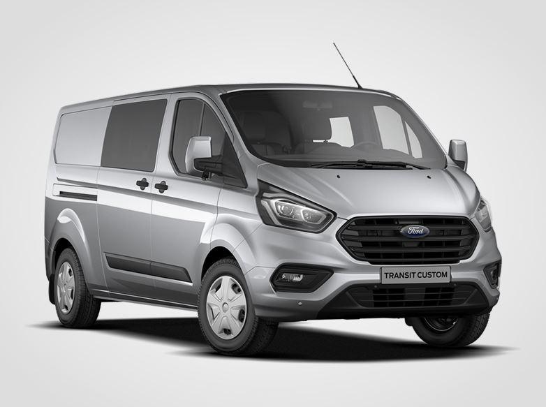 Ford Transit Custom Kombi Van Trend 320 mHEV L2,  2.0EcoBlue Hybrid (mHEV) 96kW/130k, 6st.manuální