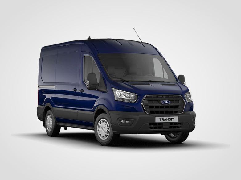 Nový Ford Transit Trend 350 L2,  Van, EcoBlue 125kW/170k, 6st.manuální