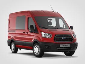 Ford Transit Kombi Van Trend 350 L2, 2.0přední pohon (mHEV) 96kW/130k, 6st.manuální