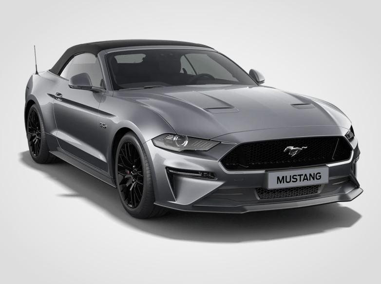 Ford Mustang  V8 GT,  Convertible, 5.0GT 330kW/449k, 6st.manuální