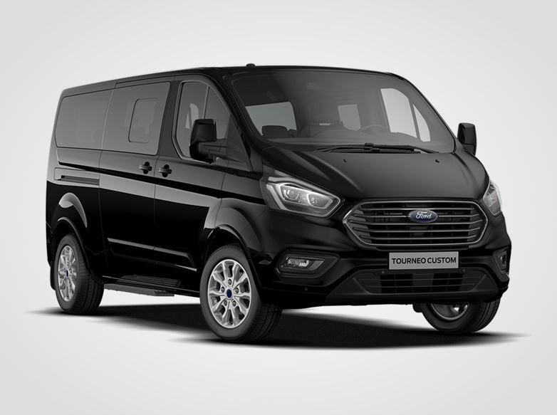 Ford Tourneo Custom Titanium 320 mHEV L2,  2,0EcoBlue (mHEV) 136kW/185k, 6st.manuální