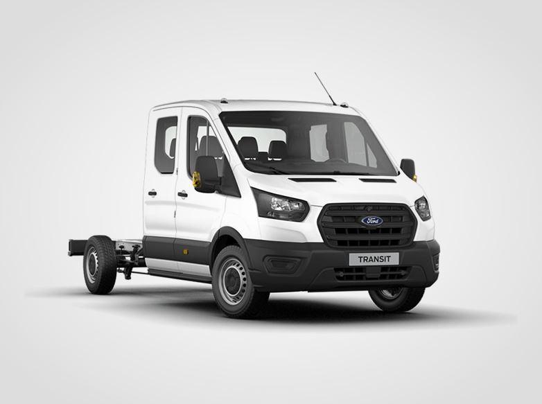 Ford Transit Dvojkabina Base 350 L3,  2.0zadní pohon 96kW/130k, 6st.manuální