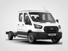 Nový Ford Transit Dvojkabina Base 350 L3, 2.0zadní pohon 96kW/130k, 6st.manuální