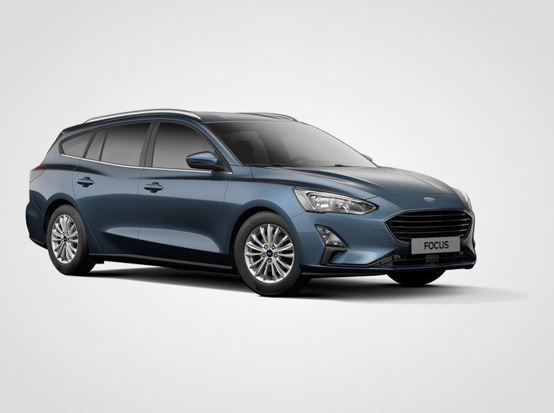 Ford Focus Titanium,  Kombi, 1.5EcoBlue 88kW/120k, 6st.manuální