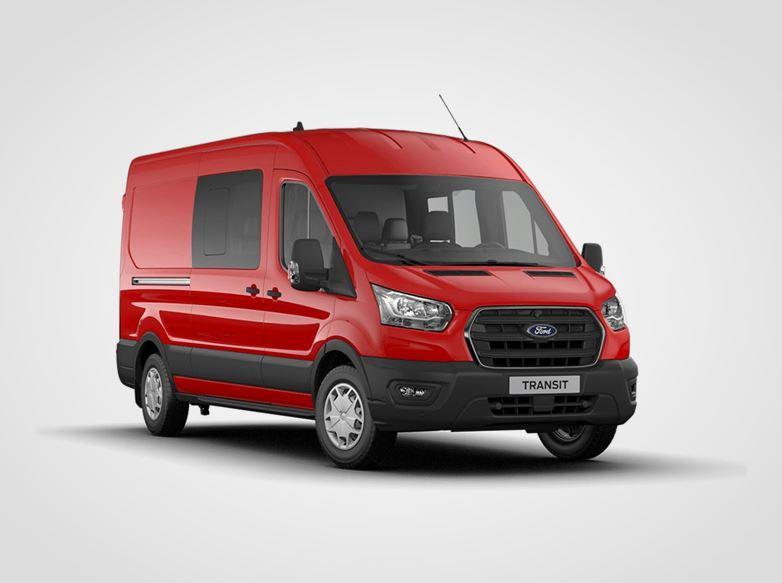Ford Transit Kombi Van Trend 350 L3,  2,0přední pohon (mHEV) 96kW/130k, 6st.manuální