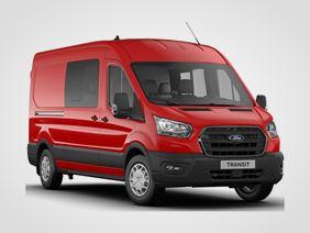 Nový Ford Transit Kombi Van Trend 350 L3, 2.0přední pohon (mHEV) 96kW/130k, 6st.manuální
