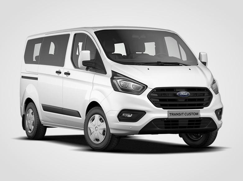 Ford Transit Custom Kombi Trend 320 PHEV L1,  1,0Elektromotor + EcoBoost 92kW/126k, 1st.automatická
