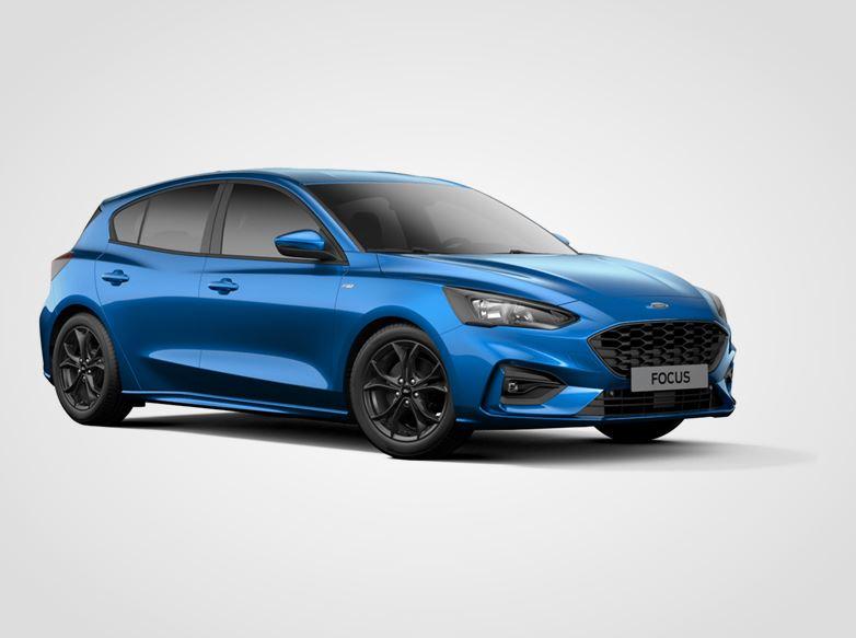 Ford Focus ST-Line,  5dveřová, 1.0EcoBoost 92kW/125k, 6st.manuální
