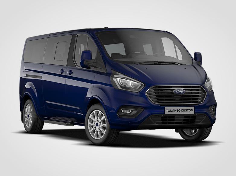 Ford Tourneo Custom Titanium 320 mHEV L2,  2.0EcoBlue Hybrid (mHEV) 136kW/185k, 6st.manuální