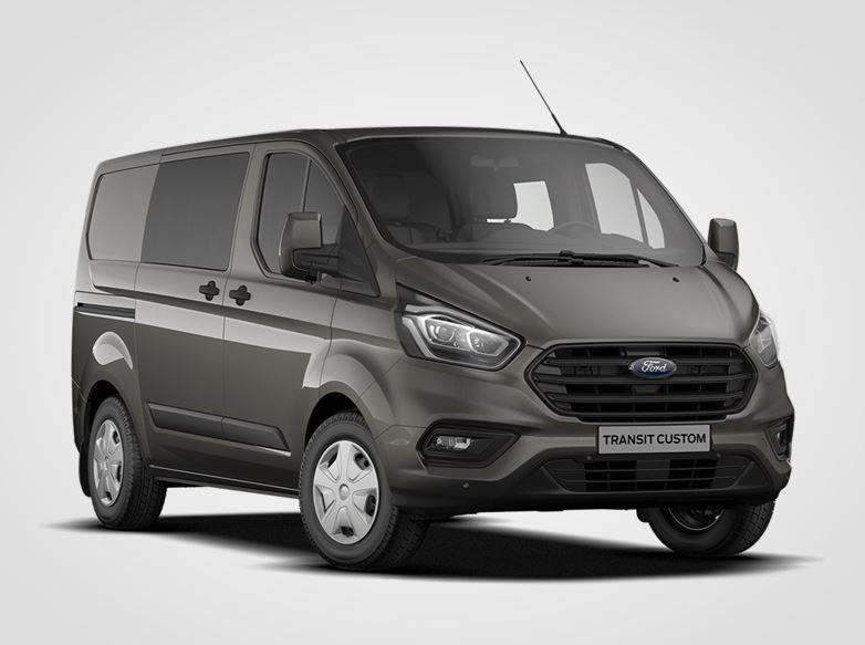 Ford Transit Custom Kombi Van Trend 320 L1,  2,0EcoBlue 79kW/108k, 6st.manuální