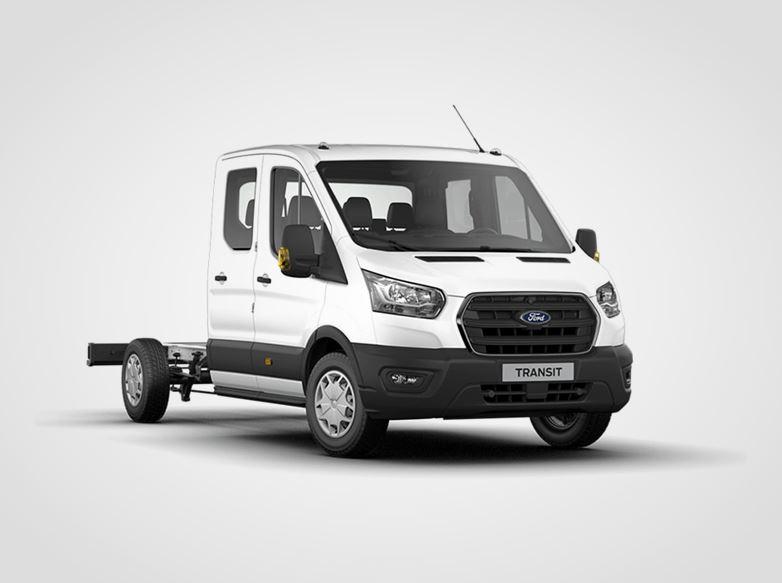Ford Transit Dvojkabina Trend 350 L4,  2.0zadní pohon 125kW/170k, 6st.manuální