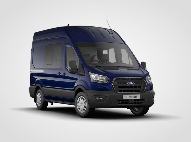 Ford Transit Kombi Van Trend 350 L2,  2,0přední pohon (mHEV) 96kW/130k, 6st.manuální