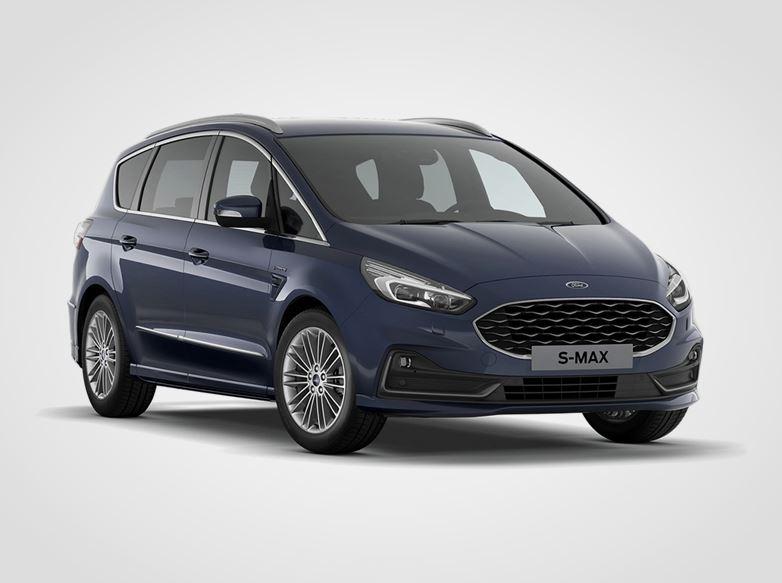 Ford S-MAX Titanium,  5dveřová, 2.0EcoBlue 140kW/190k, 8st.automatická