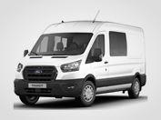 Nový Ford Transit Kombi Van Trend 350 L3,  2,0přední pohon (mHEV) 96kW/130k, 6st.manuální