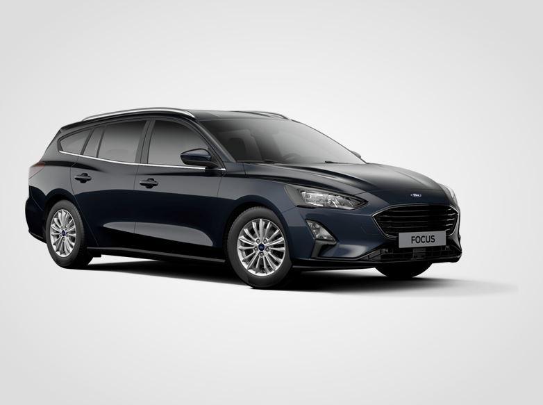 Ford Focus Titanium,  Kombi, 1.0EcoBoost (mHEV) 92kW/125k, 6st.manuální