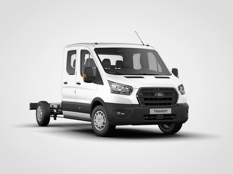 Ford Transit Dvojkabina Trend 350 L3,  2.0zadní pohon 125kW/170k, 6st.manuální