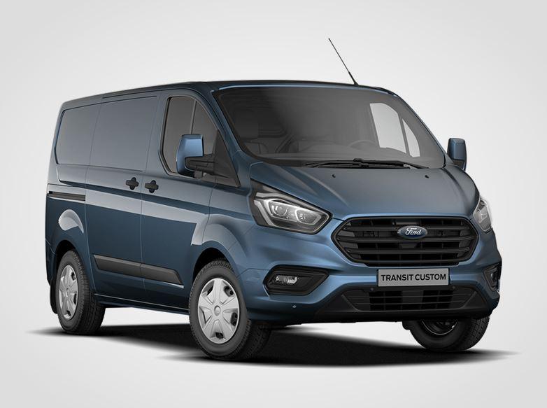 Ford Transit Custom Trend 280 L1,  Van, 2.0EcoBlue 77kW/105k, 6st.manuální