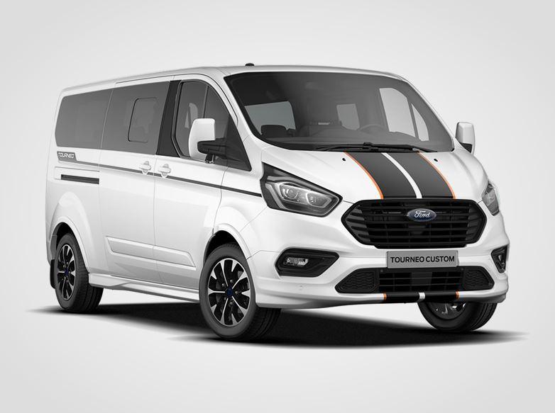 Ford Tourneo Custom Sport 320 mHEV L2,  2.0EcoBlue (mHEV) 136kW/185k, 6st.manuální