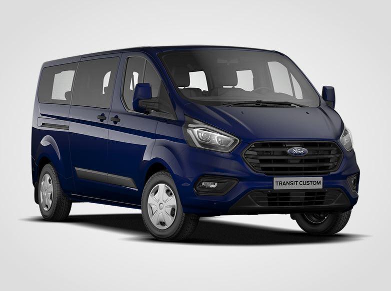 Ford Transit Custom Kombi TREND 320 L2,  2,0EcoBlue 79kW/108k, 6st.manuální
