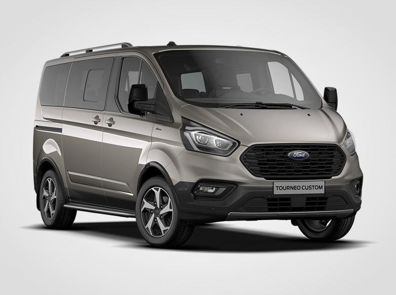 Ford Tourneo Custom ACTIVE 320 MHEV L1,  2,0EcoBlue (mHEV) 136kW/185k, 6st.manuální