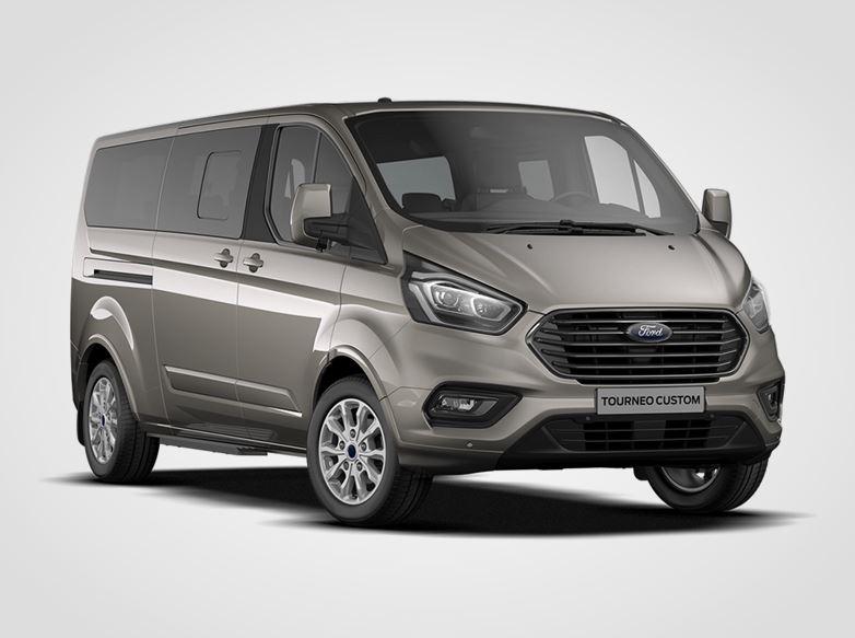 Ford Tourneo Custom Titanium X mHEV L2,  2.0EcoBlue Hybrid (mHEV) 136kW/185k, 6st.manuální