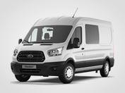 Ford Transit Kombi Van Trend 350 L3,  2.0přední pohon 96kW/130k, 6st.manuální
