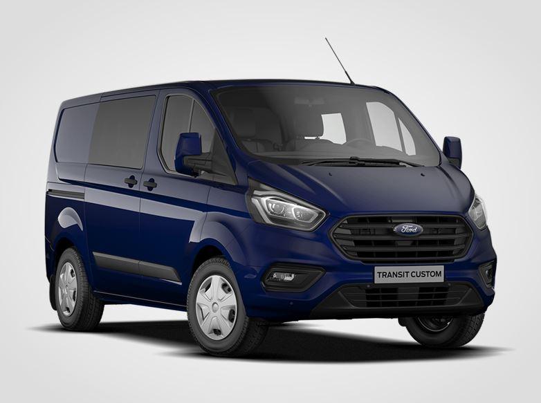 Ford Transit Custom Kombi Van Trend 320 mHEV L1,  2.0EcoBlue 96kW/130k, 6st.manuální