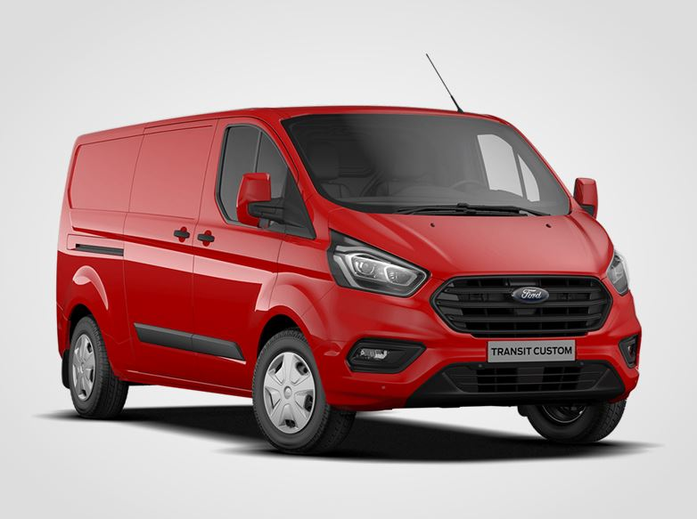 Ford Transit Custom Trend 300 L2,  Van, 2,0EcoBlue 79kW/108k, 6st.manuální