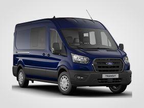Ford Transit Kombi Van Trend 350 L3, 2.0EcoBlue Hybrid (mHEV) 96kW/130k, 6st.manuální