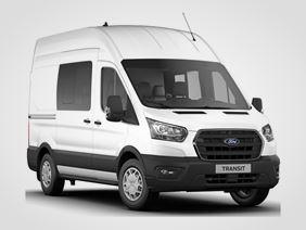 Nový Ford Transit Kombi Van Trend 350 L2, 2.0přední pohon (mHEV) 96kW/130k, 6st.manuální