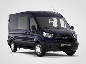 Ford Transit Kombi Van Trend 350 L3, 2.0přední pohon (mHEV) 96kW/130k, 6st.manuální