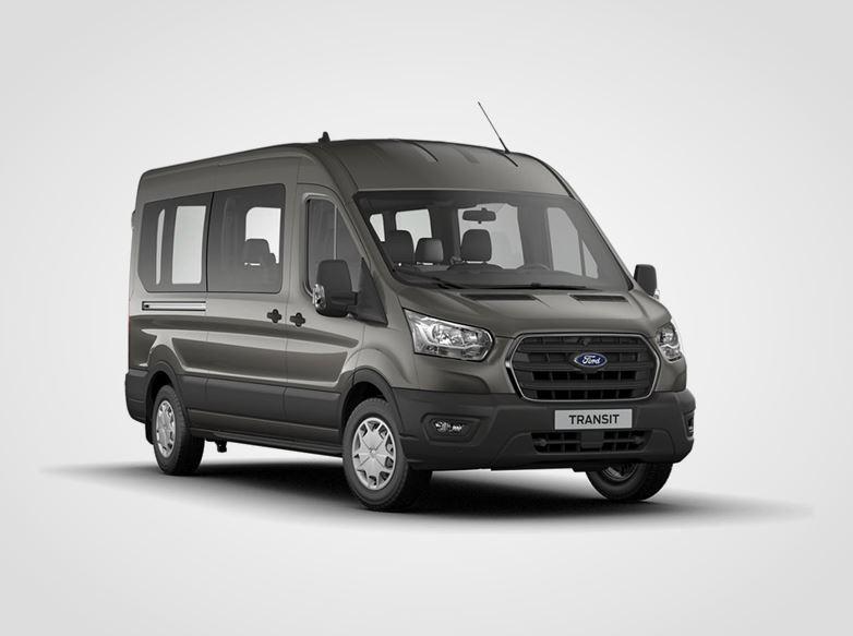 Nový Ford Transit Trend 350 L3,  Kombi, 2.0přední pohon 96kW/130k, 6st.manuální