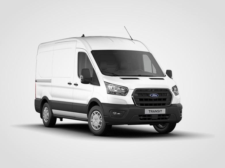 Ford Transit Trend 350 L2,  Van, 2.0přední pohon 96kW/130k, 6st.manuální