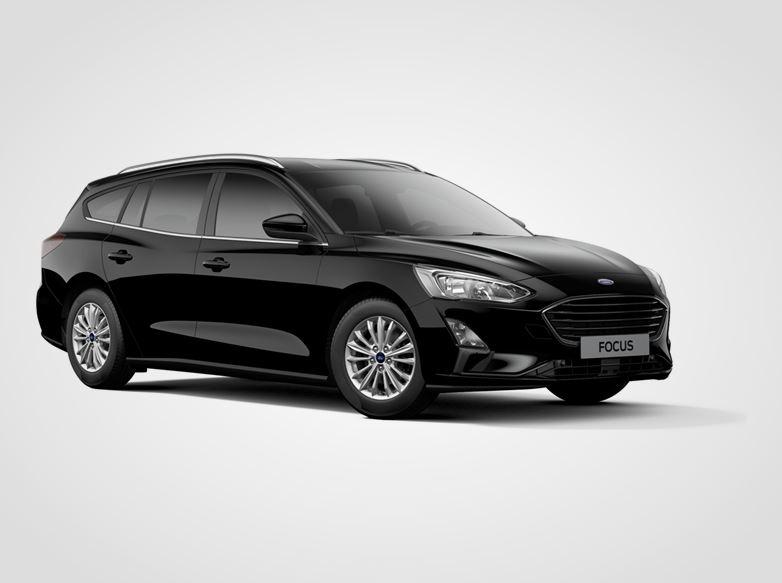 Ford Focus Titanium,  Kombi, 1.0EcoBoost 92kW/125k, 6st.manuální