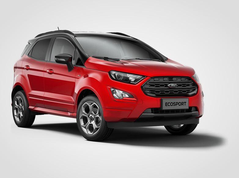 Ford EcoSport  ST-Line,  5dveřová, 1.0EcoBoost 92kW/125k, 6st.manuální