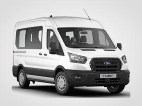 Ford Transit Trend 350 L2, Kombi, 2.0EcoBlue (mHEV) 96kW/130k, 6st.manuální