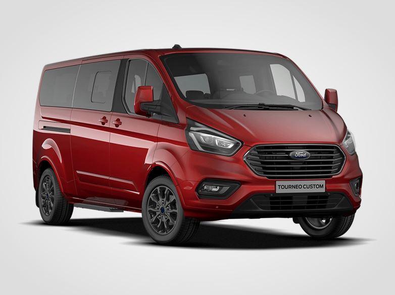 Ford Tourneo Custom Titanium X mHEV L2,  2,0EcoBlue (mHEV) 136kW/185k, 6st.manuální