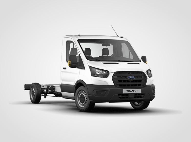 Ford Transit Jednokabina Base 350 L3,  2.0zadní pohon 96kW/130k, 6st.manuální