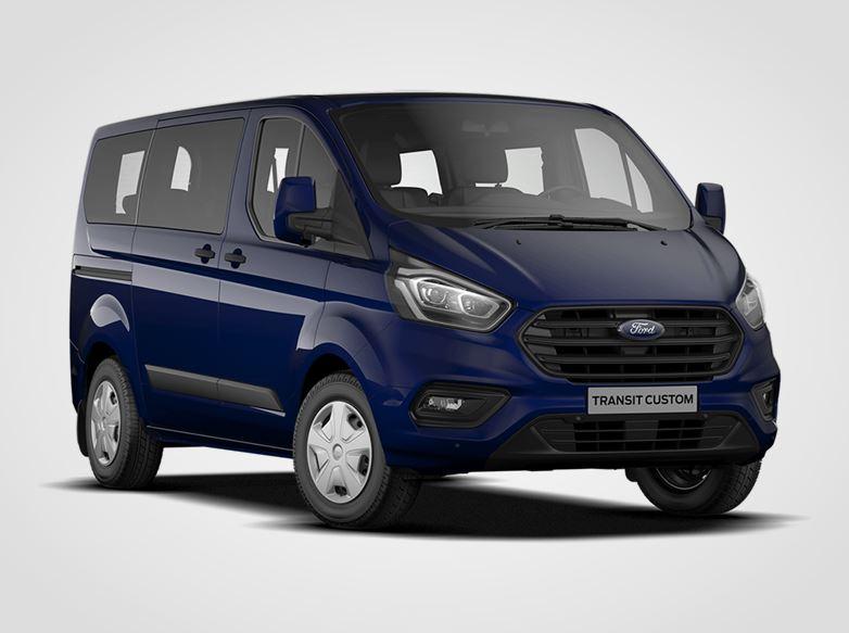 Ford Transit Custom Kombi Trend 320 mHEV L1,  2.0EcoBlue 77kW/105k, 6st.manuální