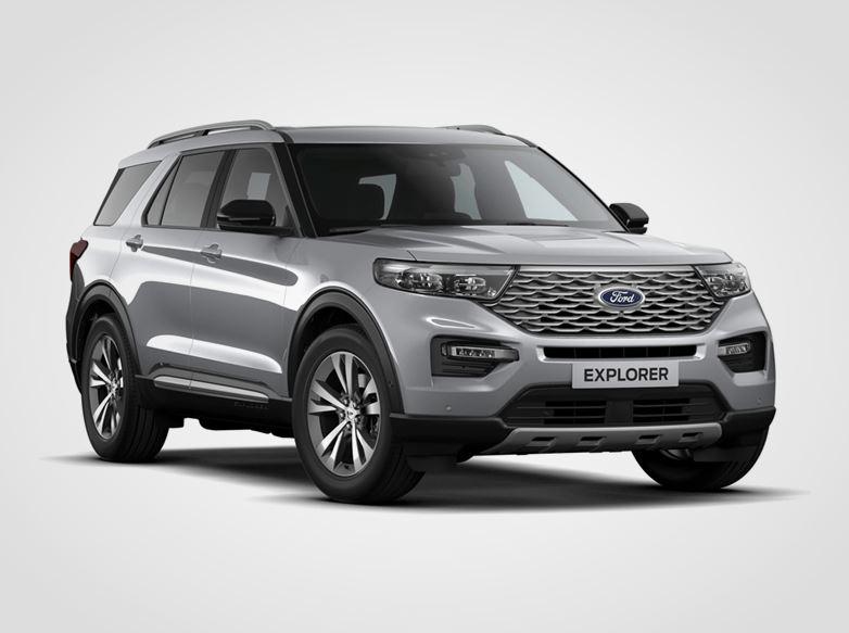 Nový Ford Explorer Platinum,  5dveřová, 3.0EcoBoost 336kW/457k, 10st.automatická, AWD